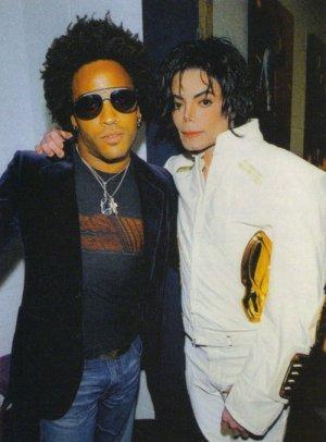 Michael et les Grands Hommes de ce monde - Page 8 Lennykravitz