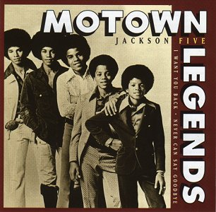 Black Vinyl Pochette de l'album Motown Legends Jackson Five